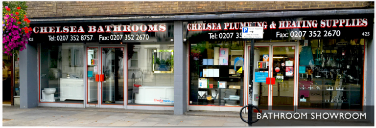 Chelsea Plumbing & Heating bathroom showroom
